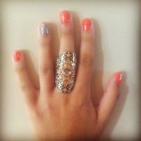 Cute and easy fall nails | BeaYOUtiful | Pinterest