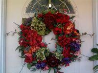 Front door wreath | Home - Wreaths | Pinterest