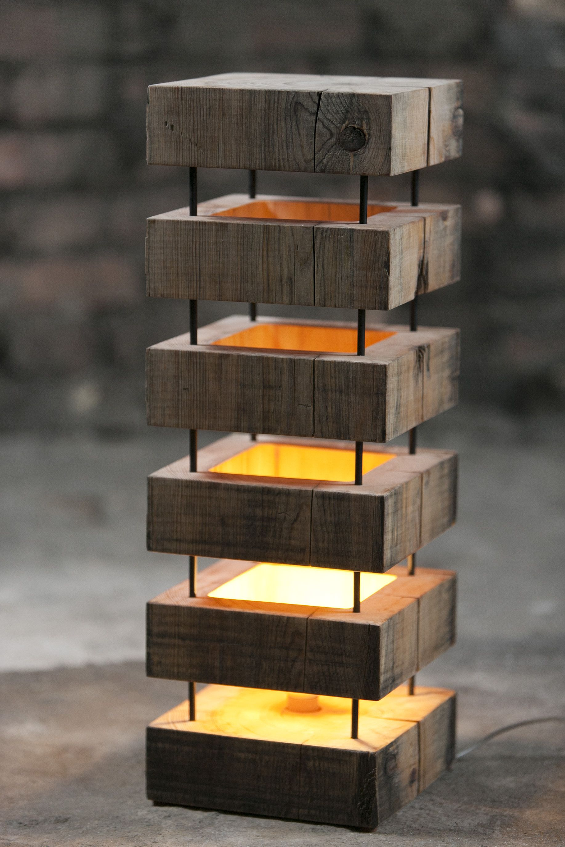 Wooden Table Lamps Designs Wooden Lamp For Indoors Wood Wood Wooden Pinterest
