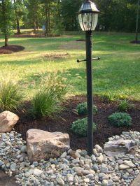 Front Yard Lamp Post