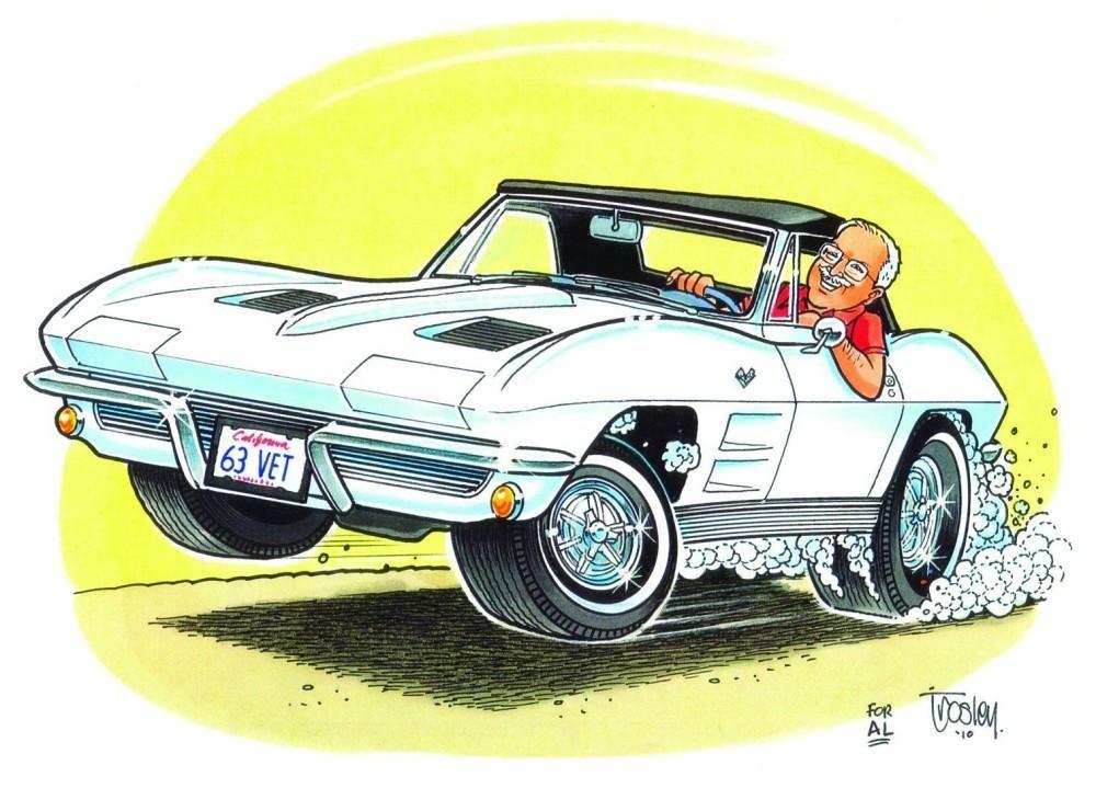 Classic Mustang Car Wallpaper George Trosley And Cartoon Magizine Cartoons Magizine