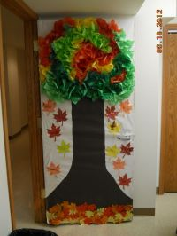 autumn door decoration | sunday school | Pinterest
