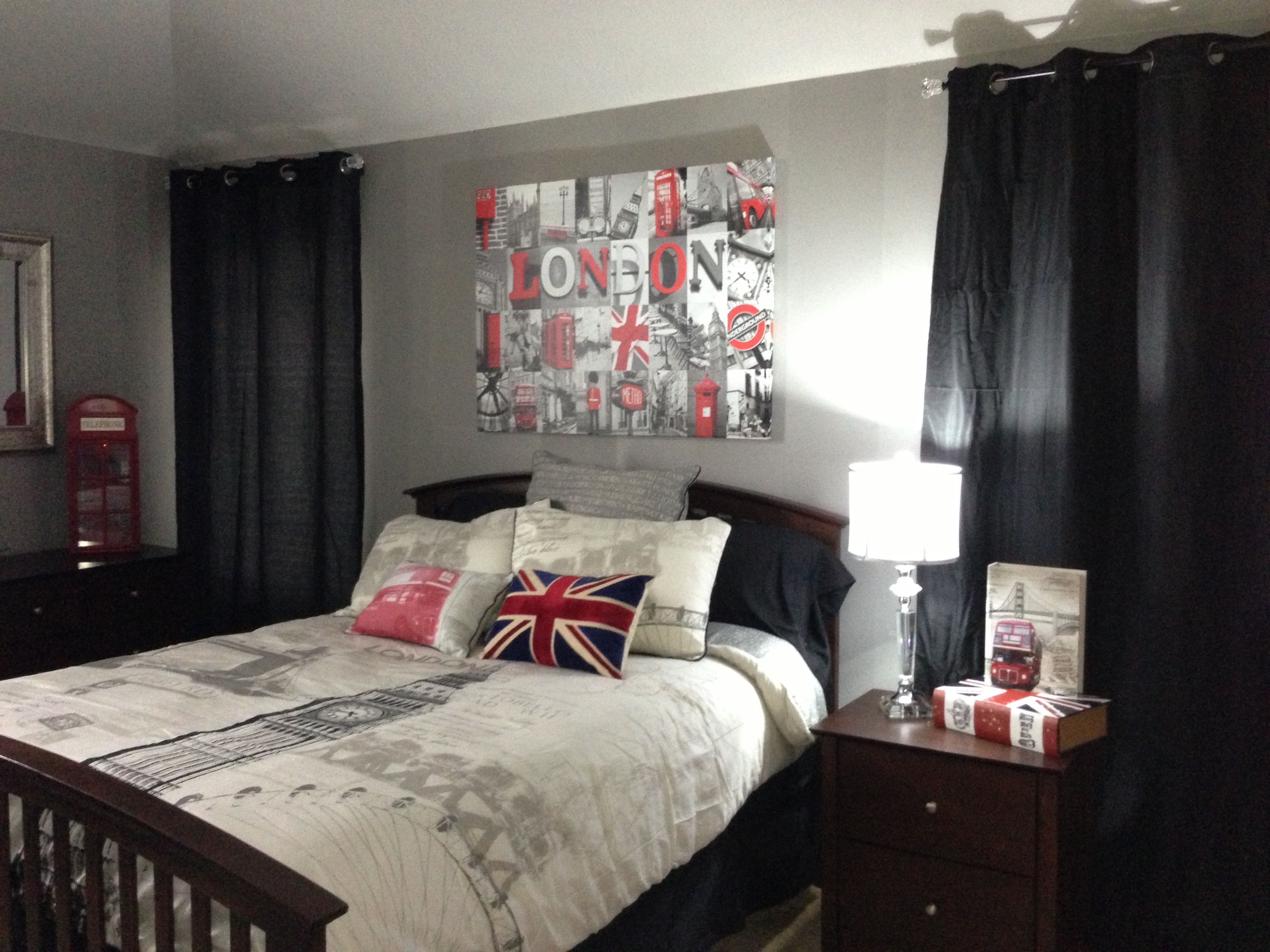 Girl Themed Bedrooms London Themed Room I Want This Dreaming Uk Pinterest