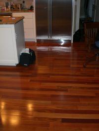 multi colored wood floor | Sandy court | Pinterest