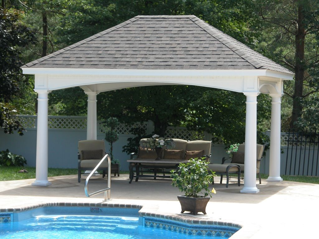 Pool Pavilion Beautiful Pavilion By The Pool | Pool | Pinterest