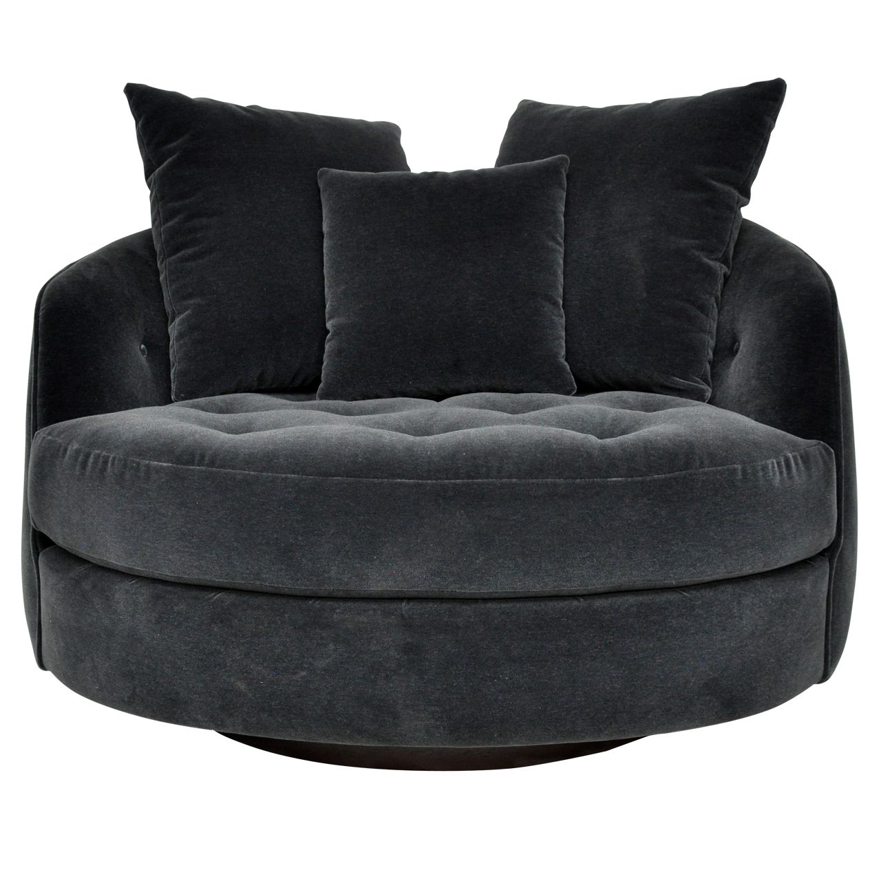 Snuggle Chairs Large Cuddle Chair By Milo Baughman F U R N I T U R E