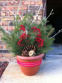Outdoor Christmas Decorations Pinterest