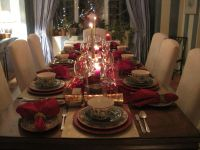 My Christmas dinner party table setting | Its my Party ...