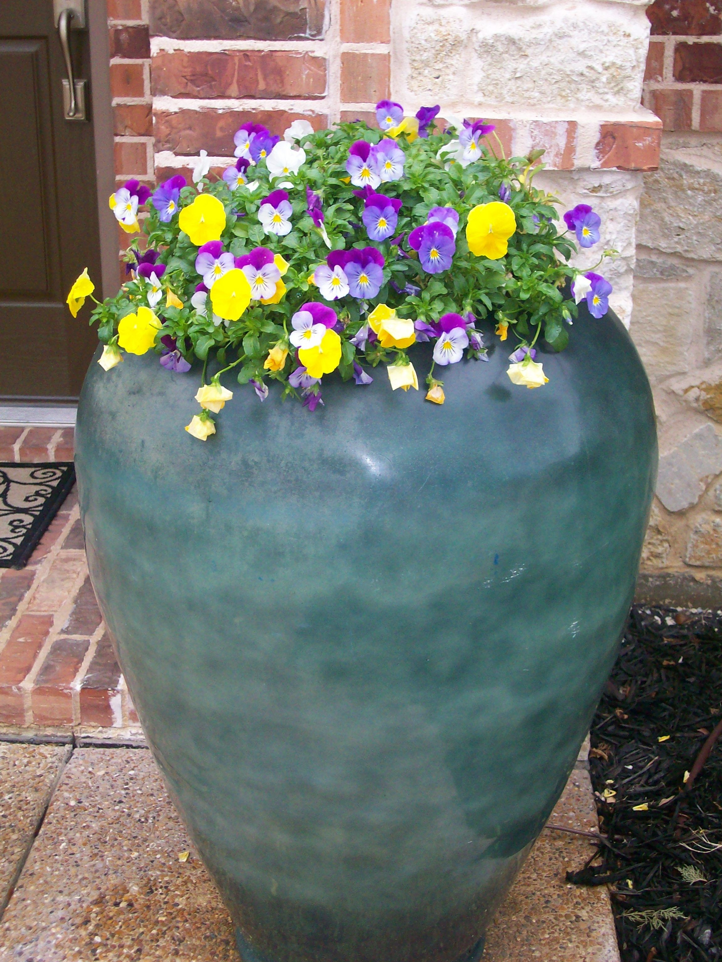Big Flower Planters Our Flower Pots Gardens Water Features Fire Pits