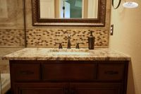 Bathroom backsplash | Dream home | Pinterest