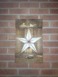Wall primitive decor | Home Decor | Pinterest