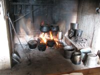 The fireplace we cook in. | 18th. Century Fireplace ...