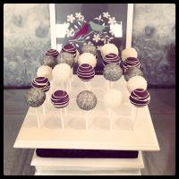 Modern Purple Bridal Shower   Wedding Ideas   Pinterest