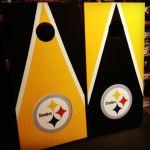 Steelers Cornhole Boards