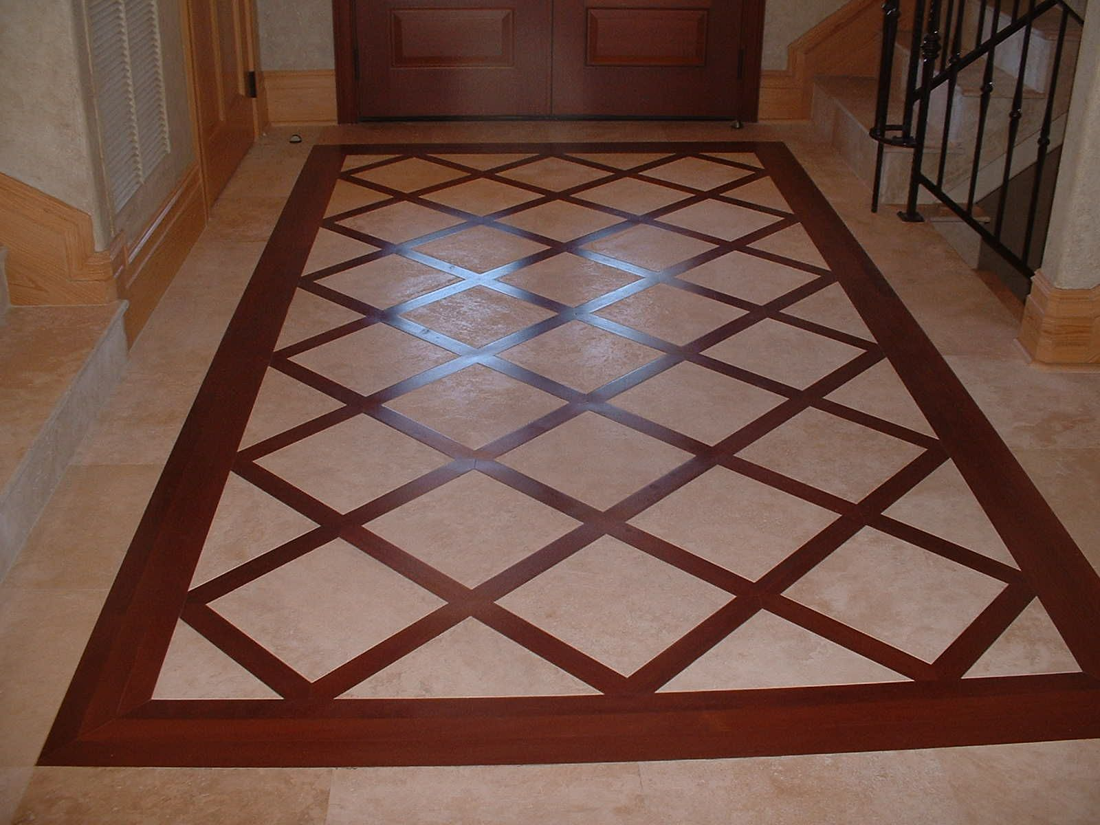 Floor Marbles Designs More Wood And Tile Mix Floor Pinterest