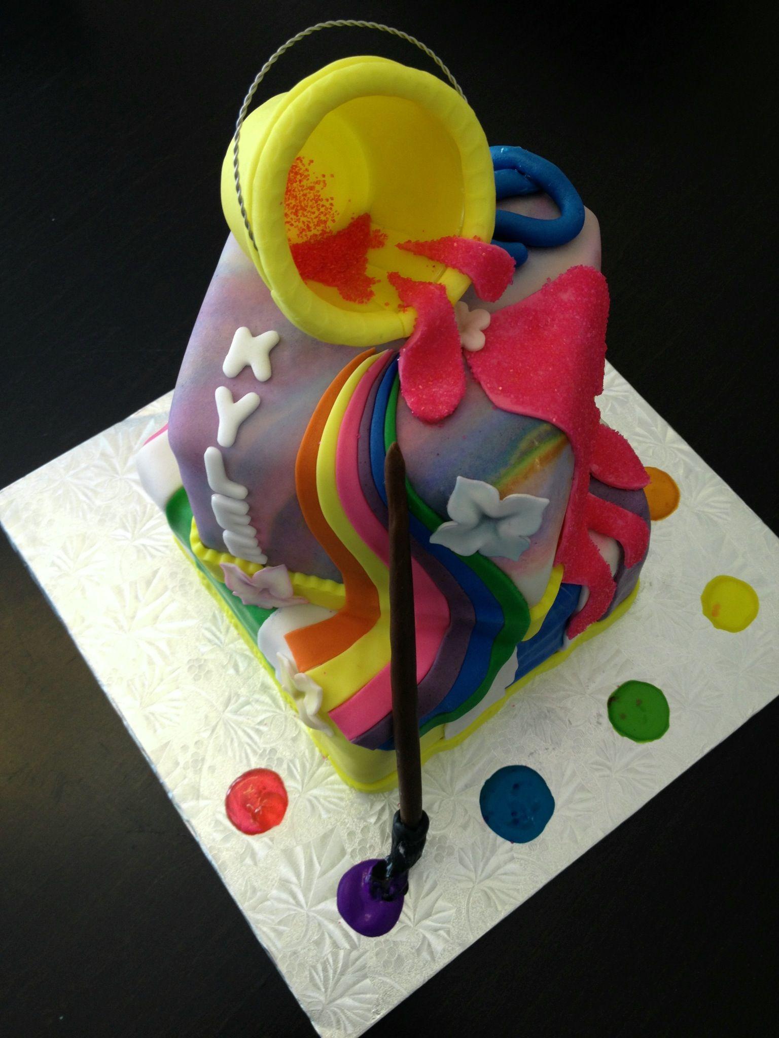 Drawing Theme Cake