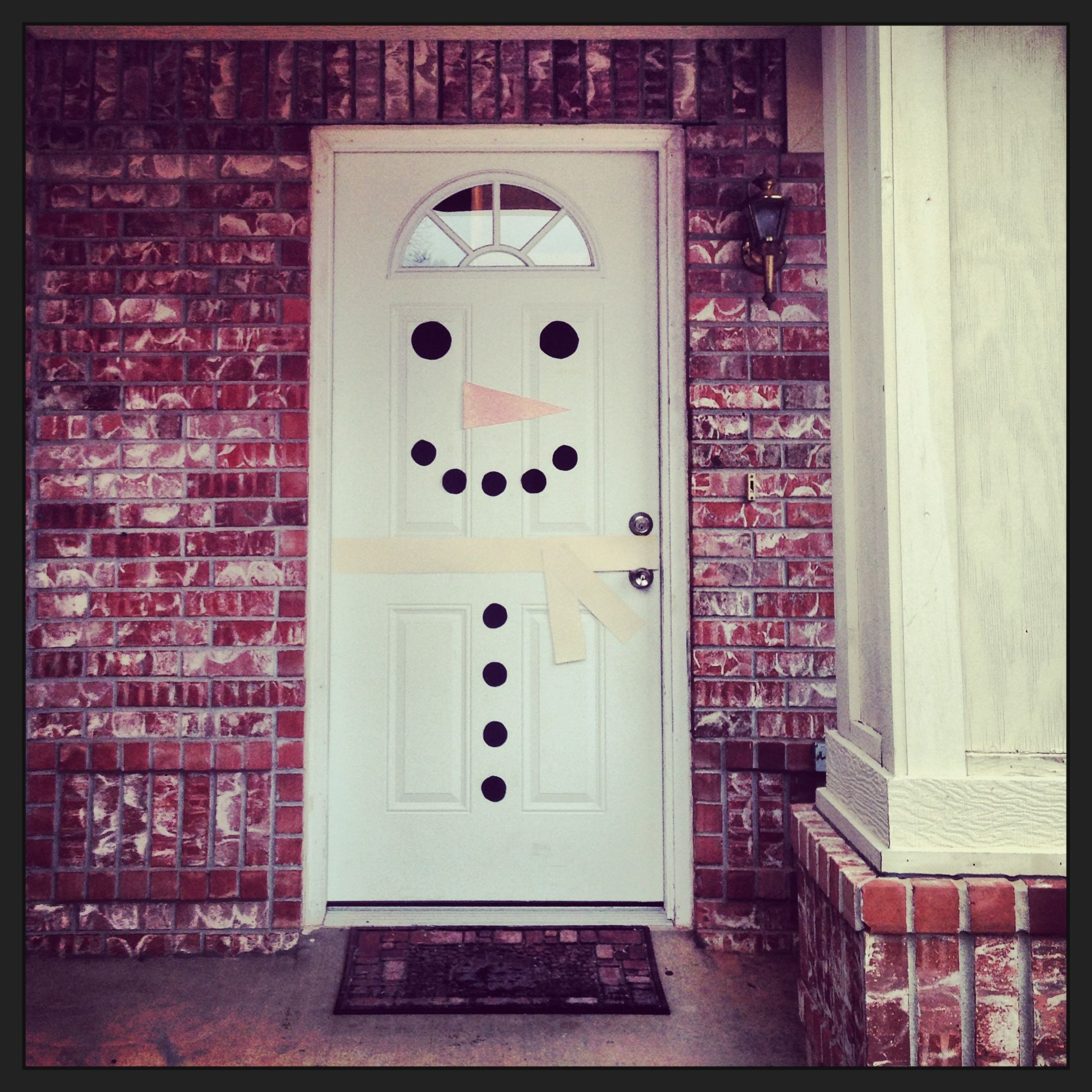 Pinterest Diy Deco Christmas Snowman Door Decoration Diy Christmas Pinterest