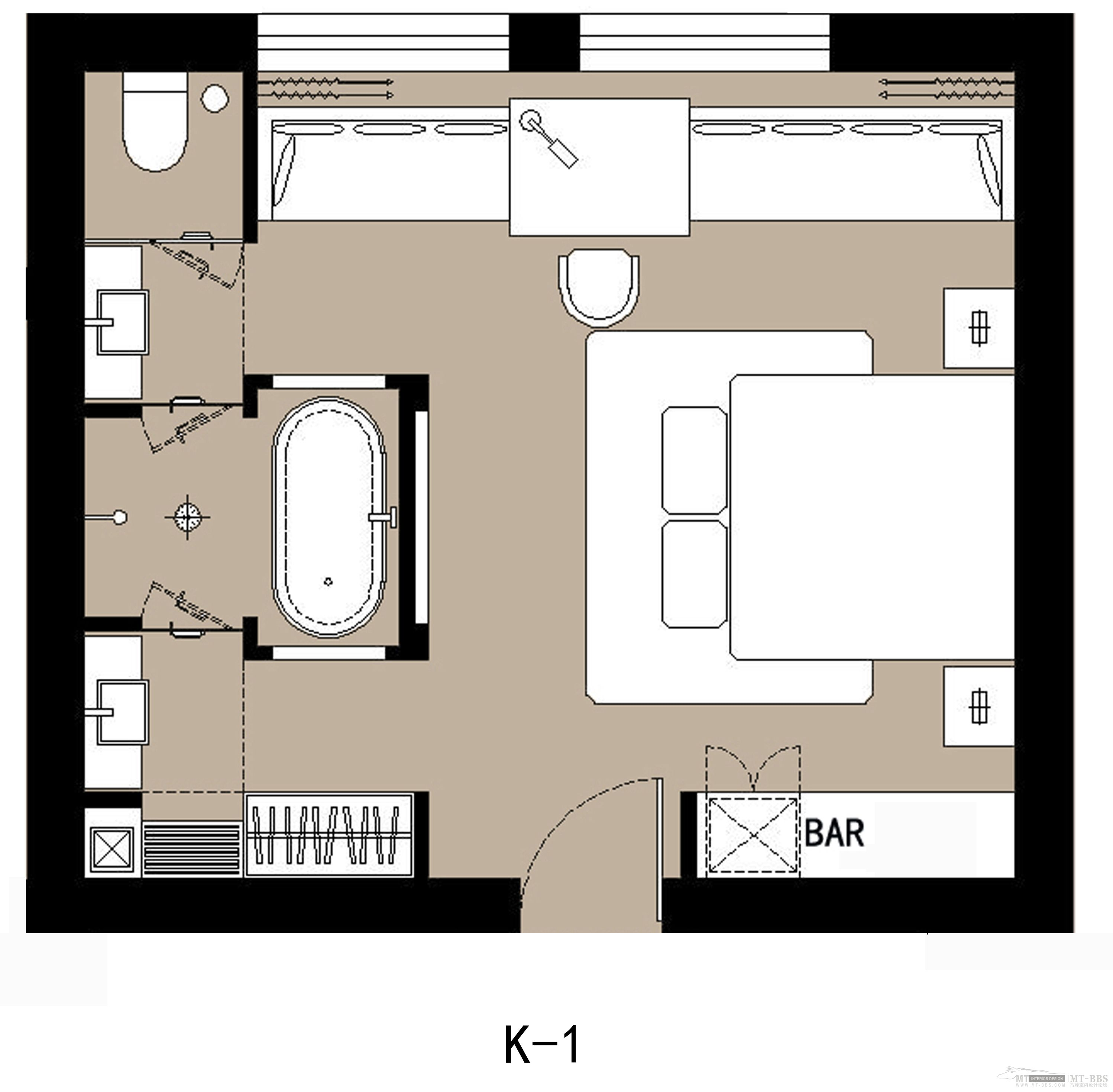 Plan Chambre Hotel Typical Hotel Room Floor Plan Click Here For The Resort