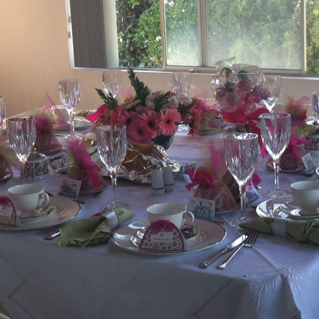 High Tea Table Setting Ncl Tea Party Ideas Pinterest