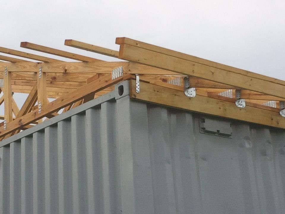 Cargo container barn ideas