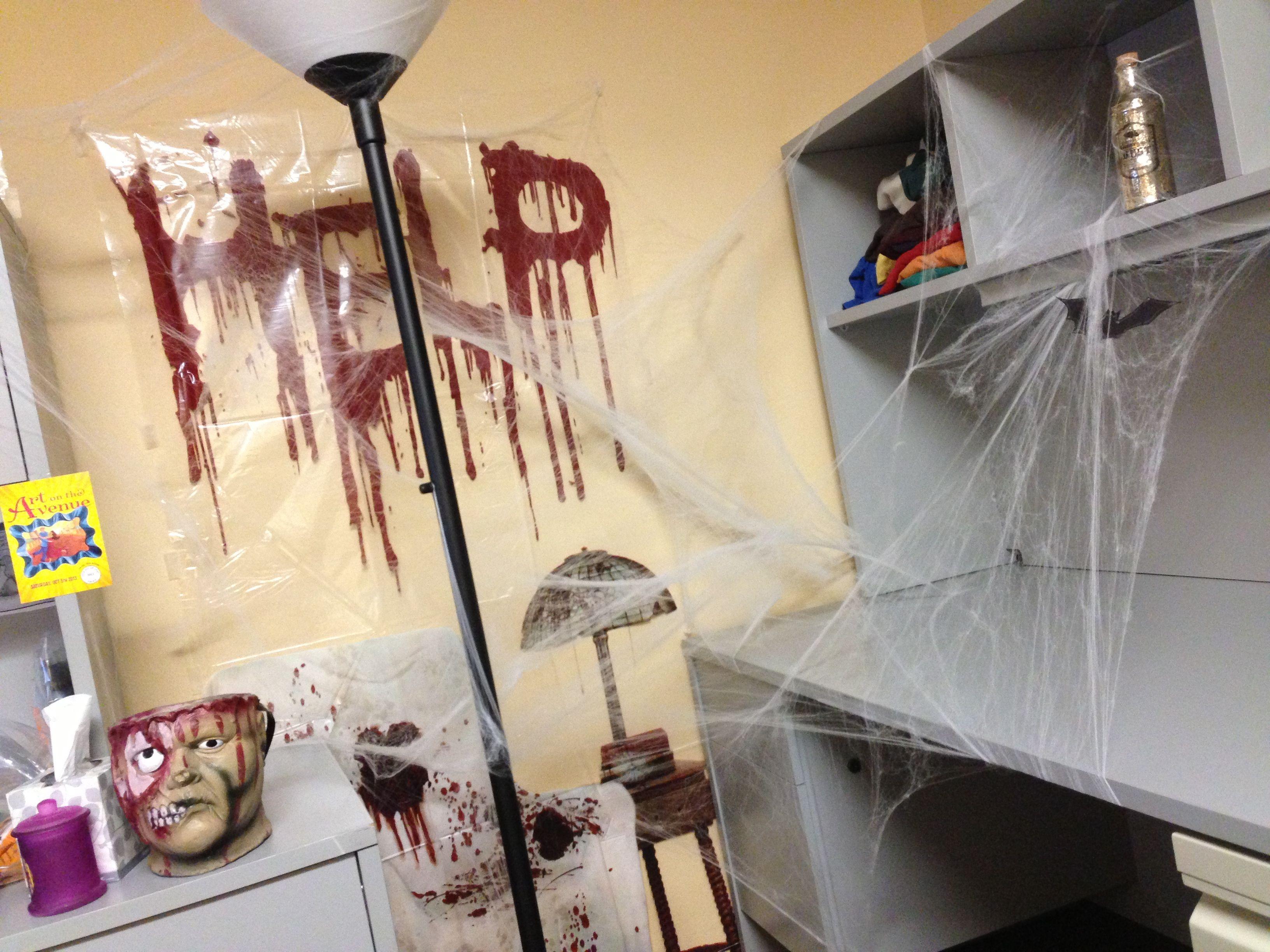 Halloween Office Decorating Ideas Example