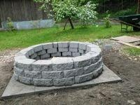 our fire pit. Backyard | Fire Pit Ideas | Pinterest