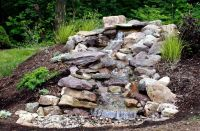 pondless waterfall | Water Features | Pinterest