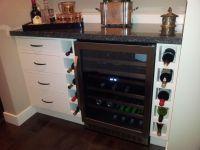 Built-in wine cabinet | House ideas | Pinterest