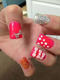 3d Bow Nail Designs | Nail Designs, Hair Styles, Tattoos ...