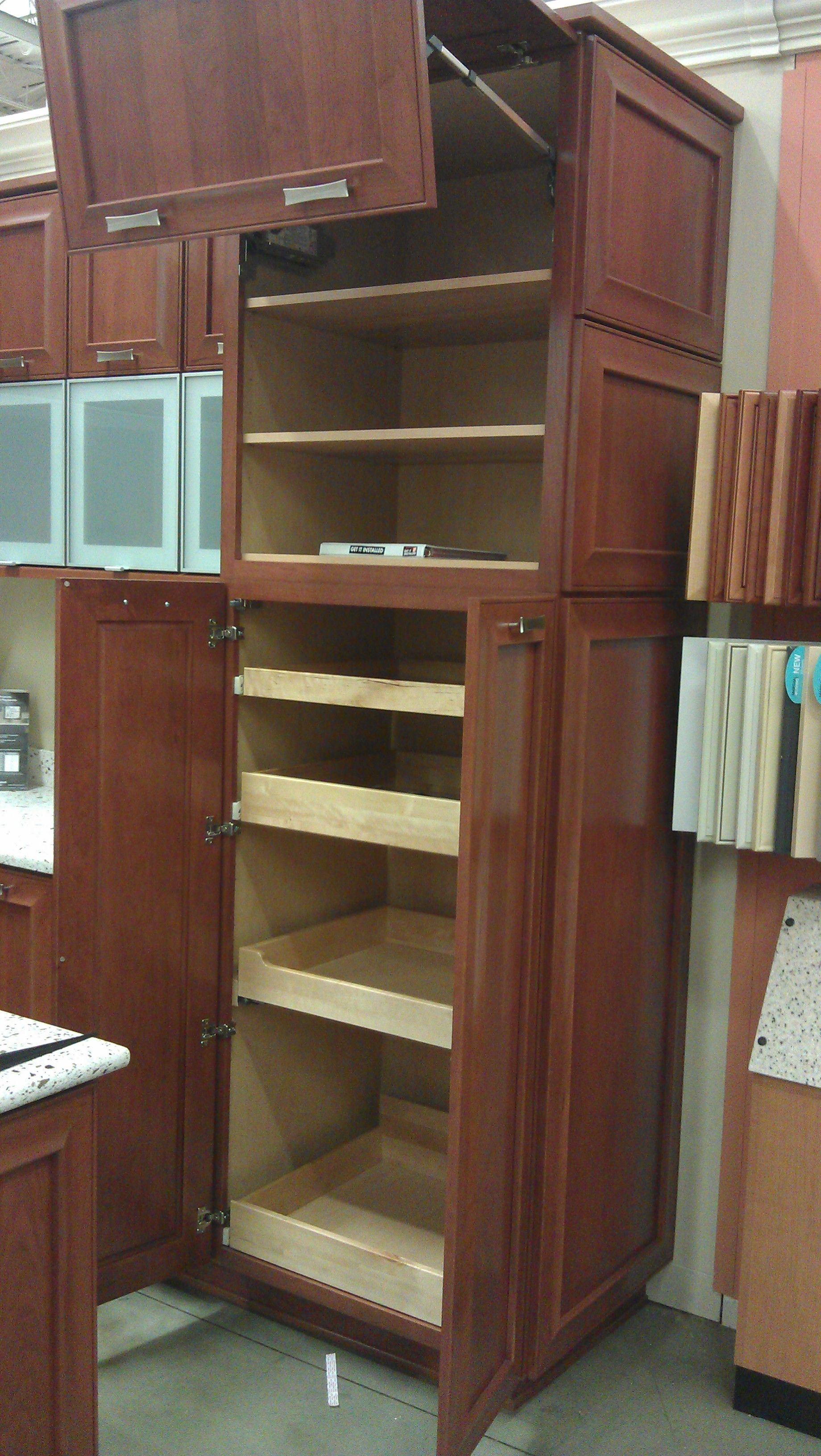 Kitchen Cabinets Slide Out Shelves Kitchen Cabinets Pull Out Shelves New House Pinterest