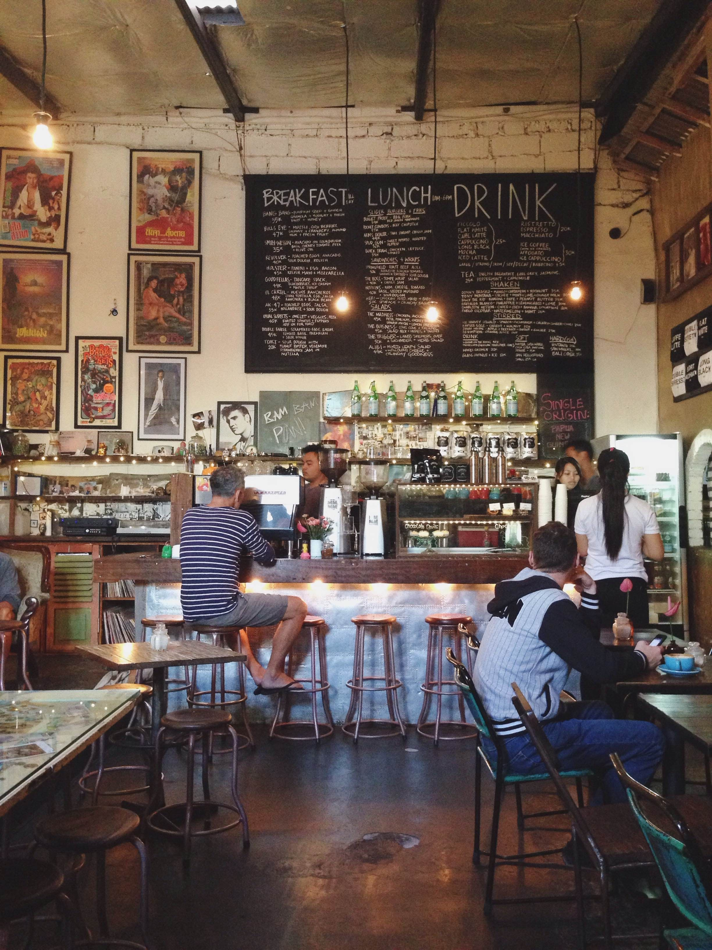 Coffee Shop Revolver Espresso Bali Cafe Shop Pinterest