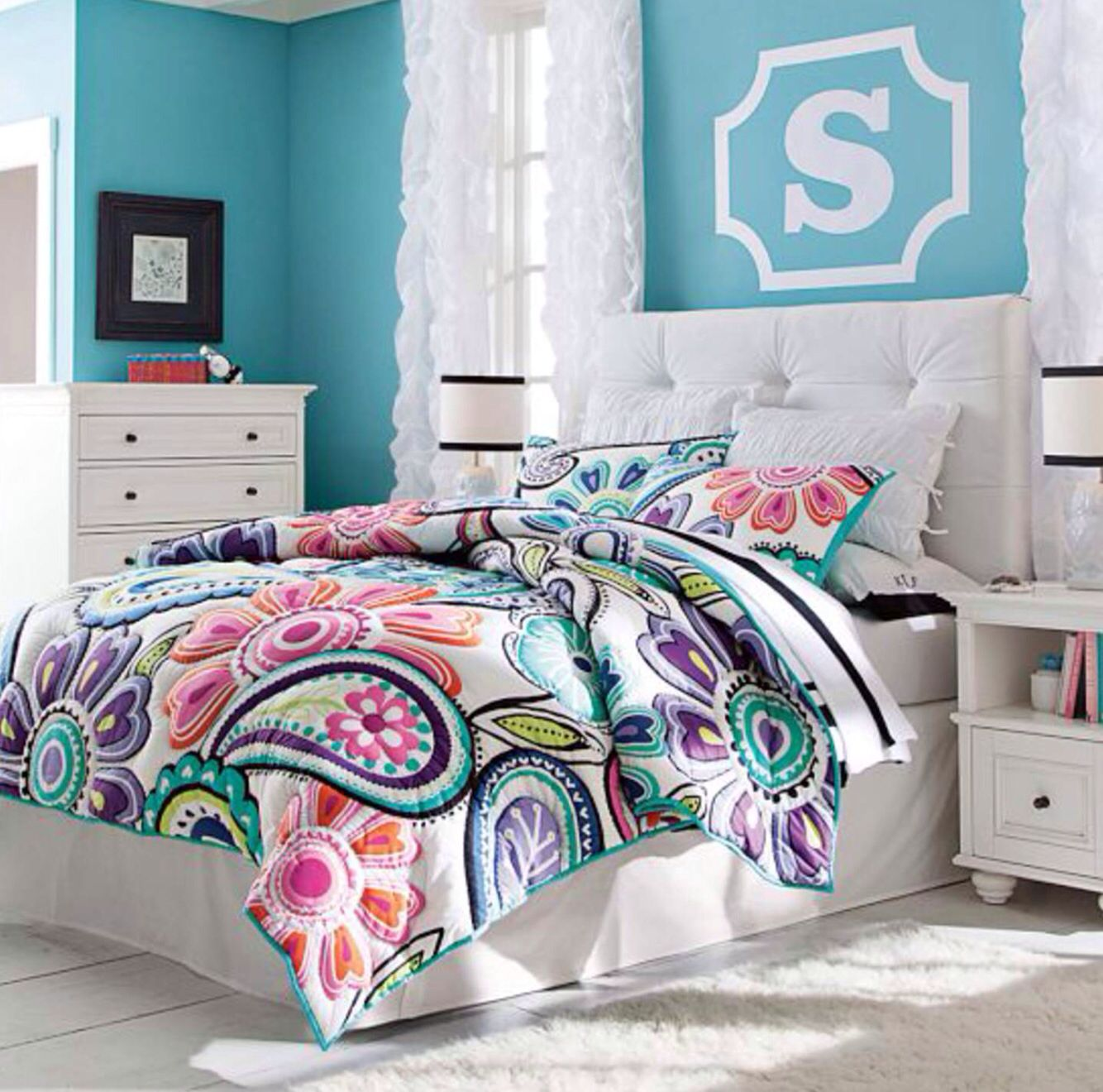 Bed For Teenage Girl Pb Teen Girls Bedroom Girls Bedroom Pinterest