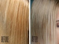 Neue Haare - Gelbstich aus blondem Haar entfernen || Momo ...