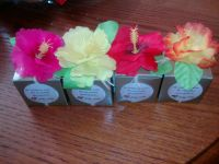 luau baby shower- candy box favors | Shower love | Pinterest