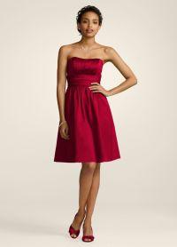 Apple Red Bridesmaid Dresses - Wedding Dresses In Redlands