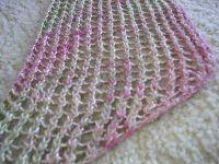 Easy Lace Knit Shawl/Scarf   Knitting   Pinterest