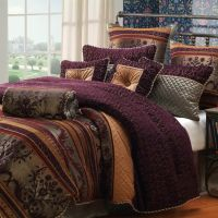 plum and gold bedding - Google Search | Project Tawny ...