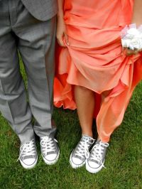 Prom Dresses with Converse Shoes