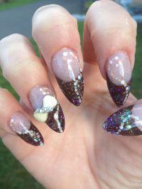 Acrylic nail design almond shape | Nails | Pinterest