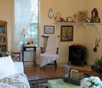 Country Cottage Living Room   Decorating my house   Pinterest