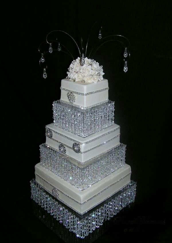 Wedding Bling Decorations Cake Ideas And Designs