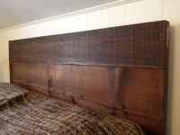 Headboard made from reclaimed barn wood.   Reclaimed ...