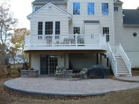 Deck and Patio combo!   Our New Home!   Pinterest