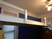 Floating loft for two twin beds | Shelter from the storms ...