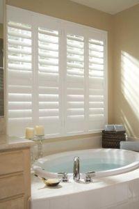 Plantation Shutters - bathroom!!!! | Window Treatments ...