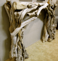 driftwood mantel | All things Wooden Driftwood Wood ...
