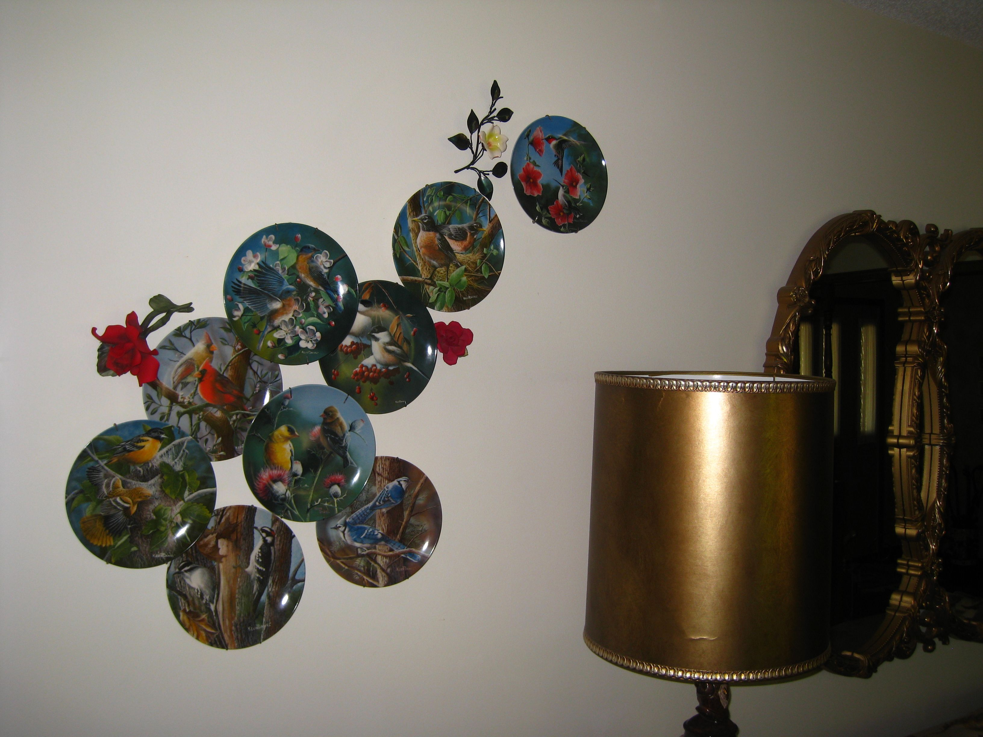 How To Display Bowls Great Way To Display Decorative Plates Great Room Ideas