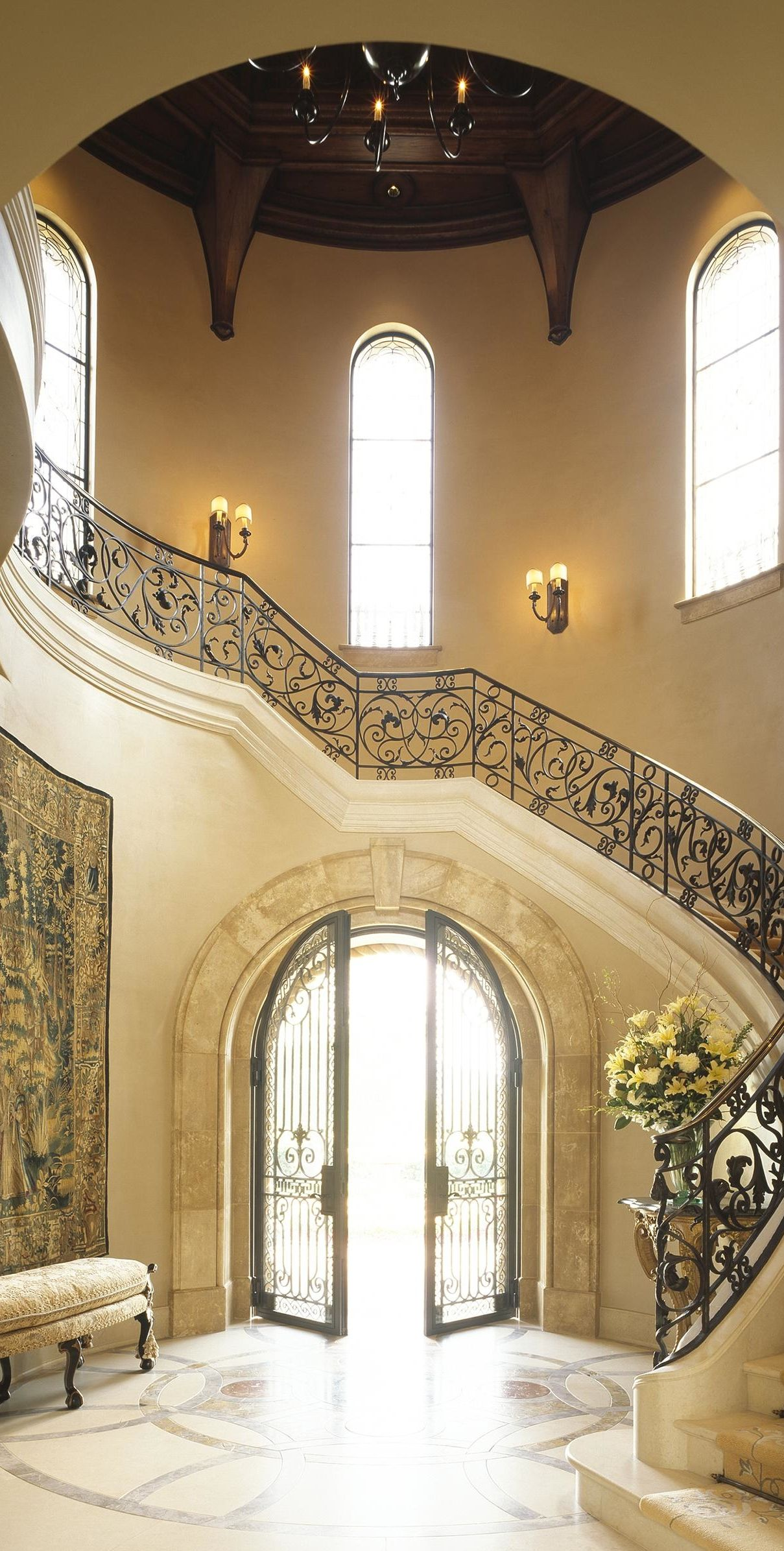 Luxury Home Entrance Grand Entrance On Pinterest Foyers Entryway And Entrance