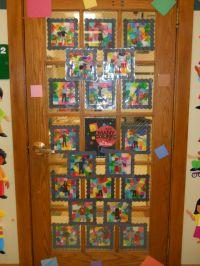 March Door Decoration | preschool art | Pinterest
