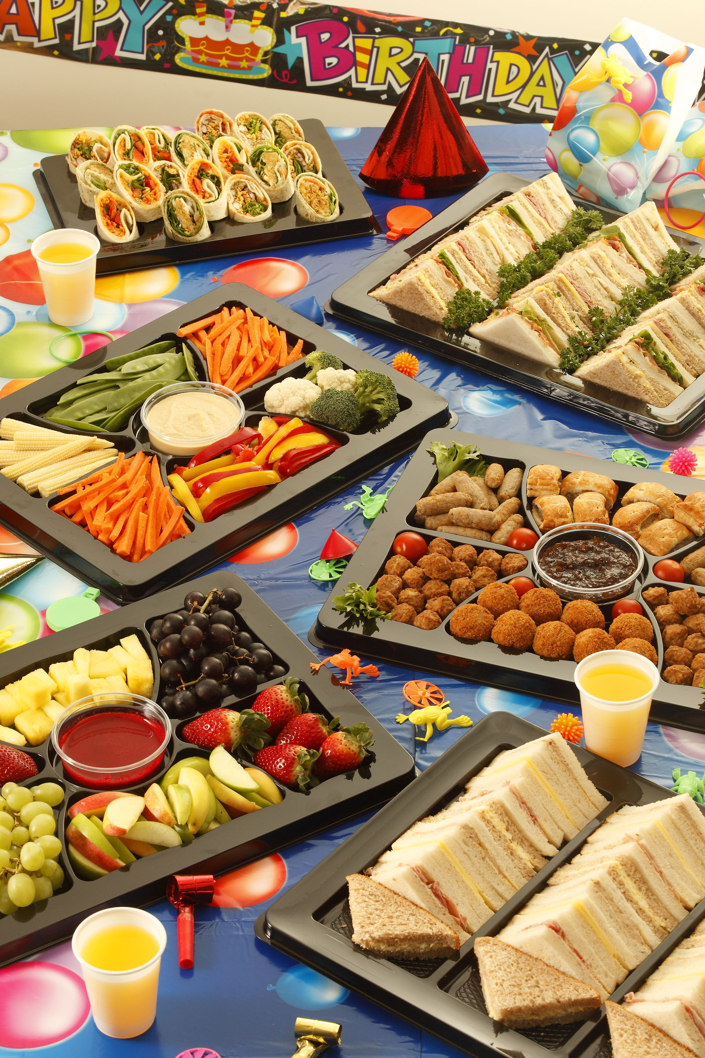 Buffet Party Party Buffet Kids Parties Pinterest